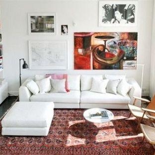 简欧风格二居室装修效果图
