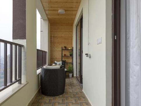 湘湖人家-现代简约-85平二居室