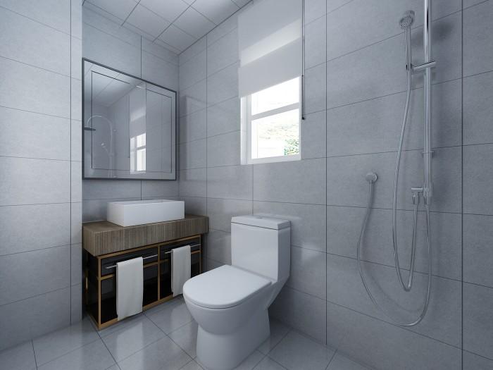 现代简约-75平米二居室整装-装修样板间