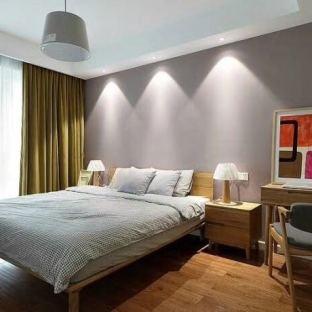 北欧风格三居室卧室装修效果图