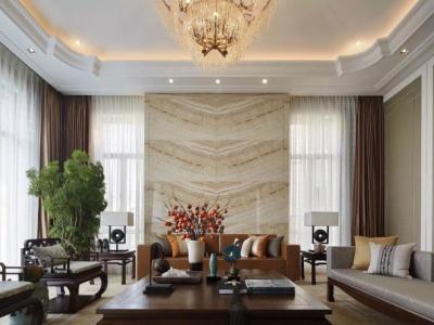 新古典风格-159.2平米三居室整装装修样板间