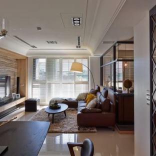 新古典风格三居室客厅装修效果图