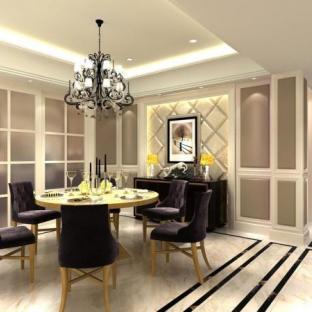 新古典风格三居室玄关装修效果图