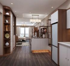 一居室家具装出两室两厅+厨房 真是赚翻了