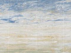《海纳百川》艺术背景墙