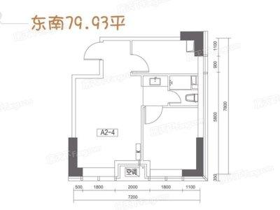 中式古典-80平米二居室装修样板间