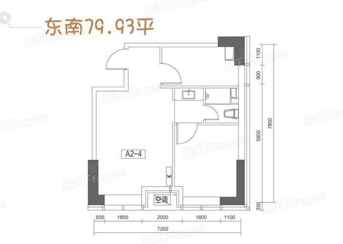 中式古典-80平米二居室-装修样板间