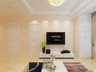 现代简约-126平米三居室整装装修样板间