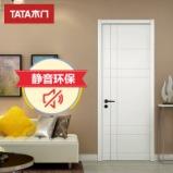 TATA木门简约室内门卧室木门 实木复合油漆门AC-020图片