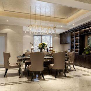 新古典风格五居室餐厅装修效果图