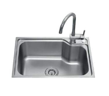 ARROW箭牌卫浴 旋转龙头不锈钢双槽豪华厨房水槽 龙头