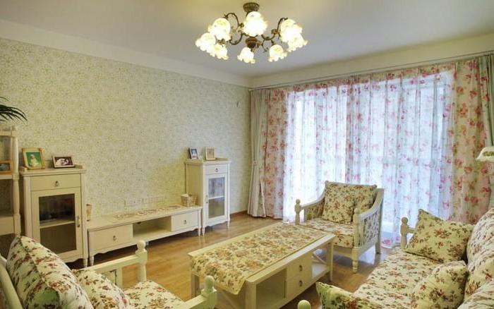 田园风格-121平米三居室整装-装修样板间