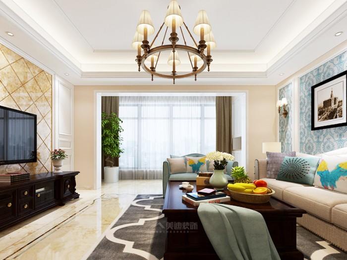 混搭风格-143平米三居室整装-装修样板间