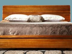 房天下胡桃木实木大床-中式风格,厚重典雅