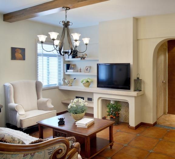地中海风格-126平米三居室整装-装修样板间