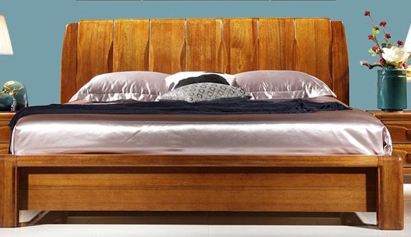 房天下胡桃木实木大床