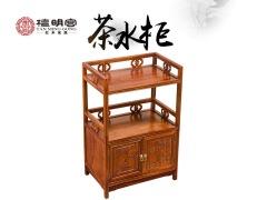 红木茶柜中式仿古餐边柜纯实木小茶柜