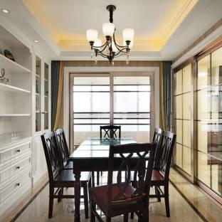 新古典风格三居室餐厅装修效果图