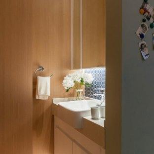 现代简约一居室卫生间装修效果图