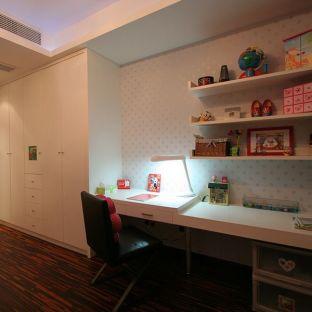混搭风格二居室书房装修效果图