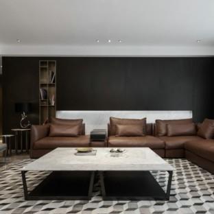 北欧风格五居室客厅装修效果图