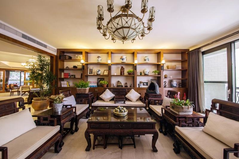 古典风格装修 追求典雅的生活环境