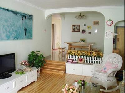 田园风格-119平米三居室整装装修样板间