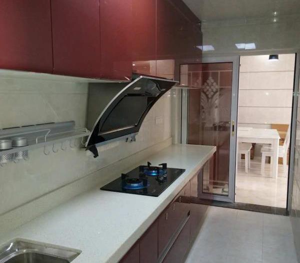 现代简约-98平米三居室整装-装修样板间