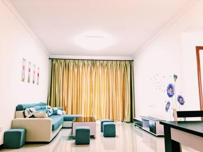 现代简约-80平米二居室整装装修样板间