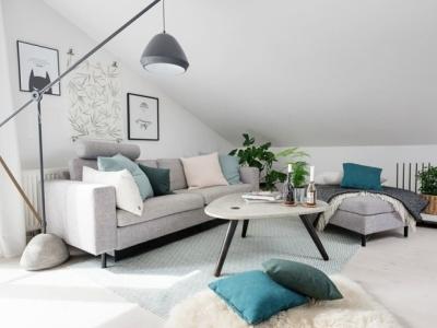 北欧风格-73平米一居室整装装修样板间