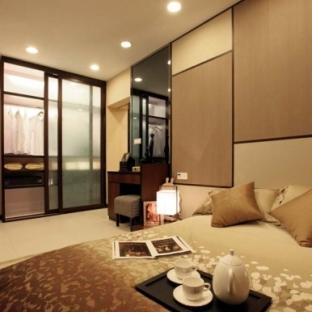 日韩风格二居室卧室装修效果图