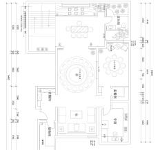 紫睿天和240别墅中式效果图