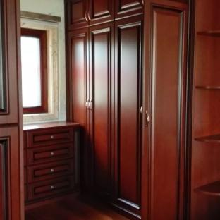 中式风格六居室玄关装修效果图