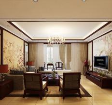 盛天东郡-中式风格-四居室