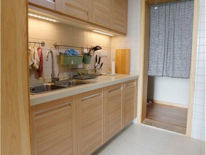 日韩风格-60平米二居室整装-装修样板间