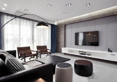 现代简约-142平米四居室整装装修样板间
