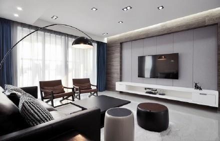 现代简约-142平米四居室整装-装修样板间