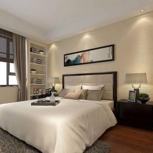 新中式二居室卧室装修效果图