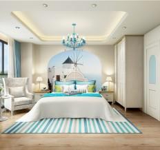 恒地悦山湖地中海三室两厅