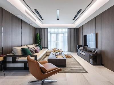 现代简约-165平米四居室装修样板间