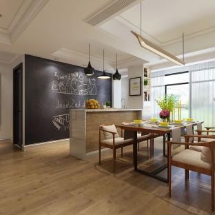 新古典风格四居室餐厅装修效果图