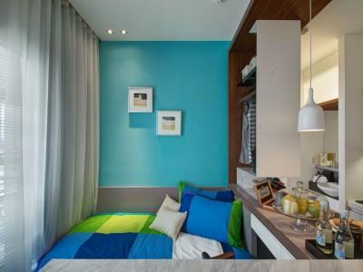 现代简约-109平米三居室整装装修样板间