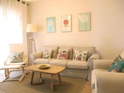 日韩风格-110平米三居室装修样板间
