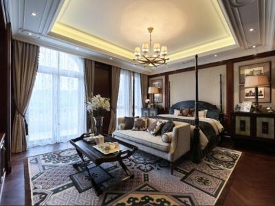 美式风格-248平米四居室装修样板间
