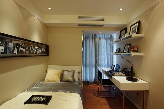 现代简约-106.72平米三居室整装-装修样板间