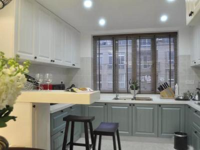 现代美式-139.39平米四居室装修样板间