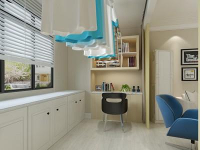 现代简约-128平米四居室装修样板间