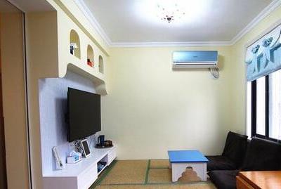 现代简约-47平米一居室装修样板间