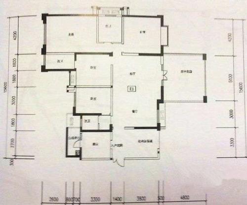 南湖国际社区177平中式风格四居室