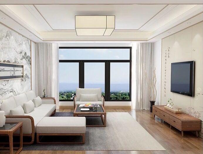 现代风格-105平米三居室-装修样板间
